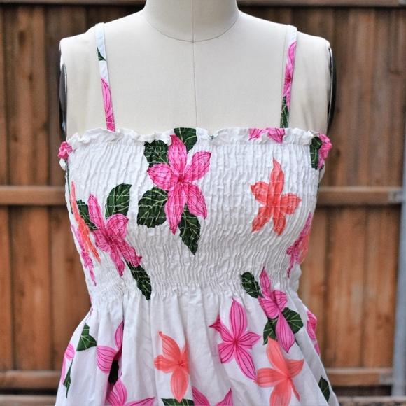 12f0334ec98 Vintage Smocked Sundress by Pacific Legend. M 5b457b0261974533ee2b8077